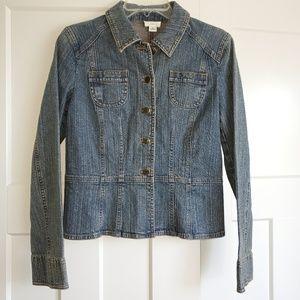 Women's Ann Taylor Loft Jean Jacket Size 6